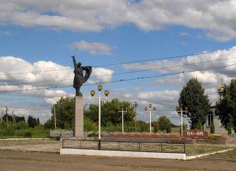 Братская могила советских воинов, Голосков
