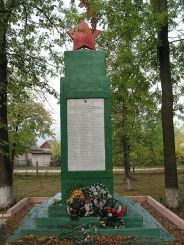Памятный знак в честь воинов-односельчан, Миньковцы