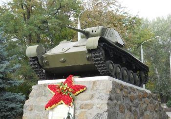Памятник Танку Т-70, Мелитополь