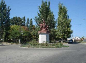 Пам'ятник Слава героям праці, Дніпрорудне