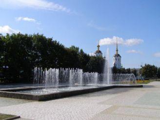 Фонтан в Олександрівському сквері, Харків