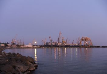 Berdyansk sea port