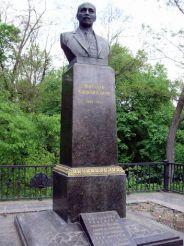 Могила М. Коцюбинского, Чернигов