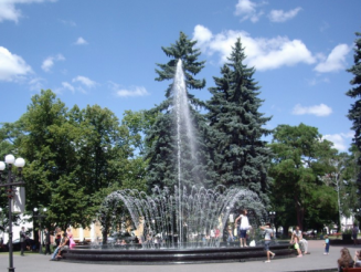 Musical Fountain, Chernigov