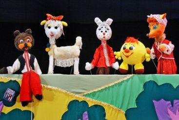 Puppet Theatre. Dovzhenko