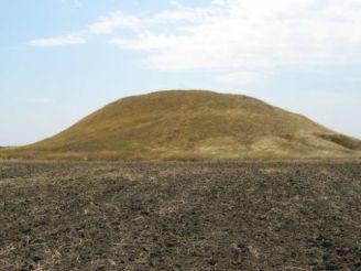 Scythian burial mound Solokha Most Znamianka