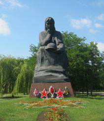 Памятник Скорбящая Родина-мать