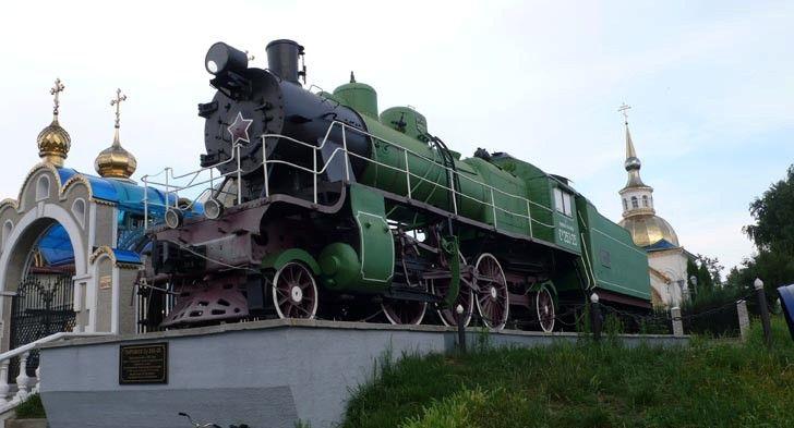 Steam locomotive Su 25325 Kovel photos description address