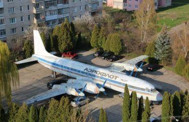 Самолет Ил-18Б, Луцк