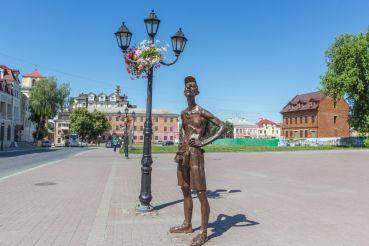 Памятник Туристу, Каменец-Подольский