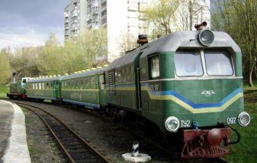 Дитяча залізниця, Луцьк