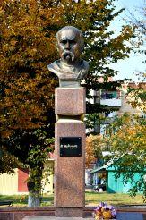 Пам'ятник Шевченку, Костопіль