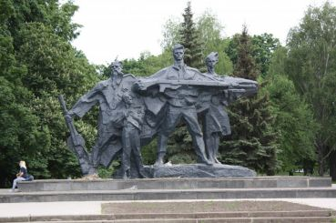 Monument of Glory to the heroes of Sumy