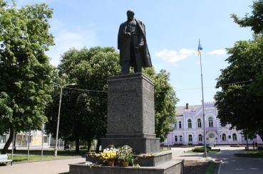 Taras Shevchenko Monument, Sumy