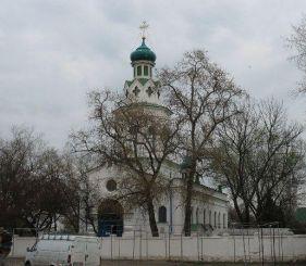 Василівська церква, Ромни
