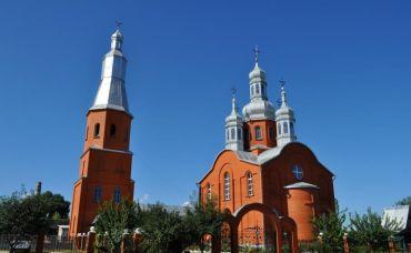 Успенська церква, Білопілля