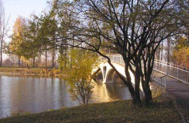 Міст на острів Кохання, Івано-Франківськ
