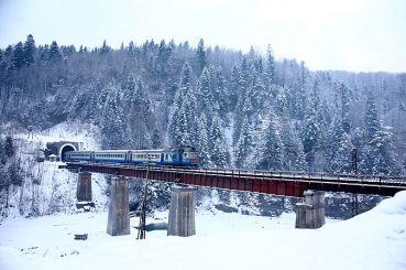 Мост через реку Прут, Яремче