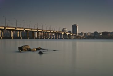 Central Bridge, Dnipropetrovsk