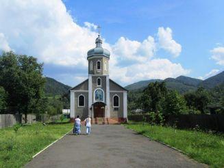 Церква Георгія Переможця, Кострина