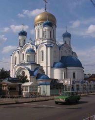 Крестовоздвиженский собор (новый), Ужгород