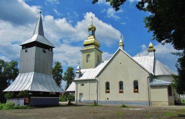Церковь Архангела Михаила (новая), Крайниково