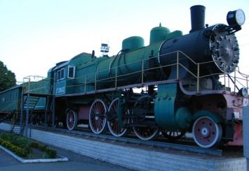 Monument Museum locomotive Su 216-32, Smela