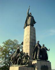 Памятник Богдану Хмельницкому на Замковой горе