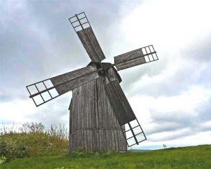 Ветряная мельница, Ивковцы