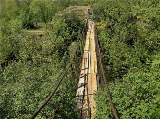 Чертов мост, Корсунь-Шевченковский