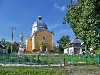 Церква Cвятого Димитрія, Літятин