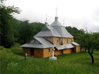 Миколаївська церква, Виженка