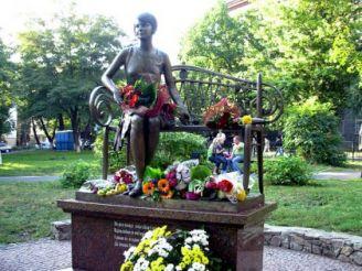 Пам'ятник Олені Телізі, Київ