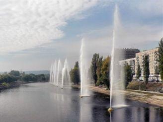 Русановские фонтаны, Киев