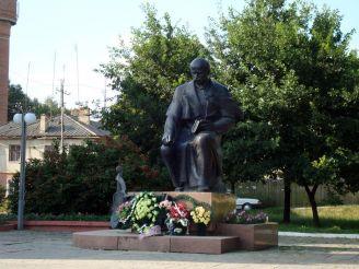 Пам'ятник Т. Шевченку, Борщів