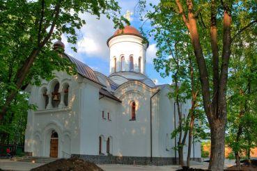 Церковь Агапита Печерского, Киев