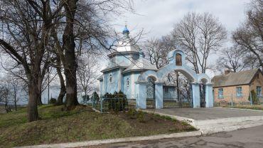 Крестовоздвиженская церковь, Копытково