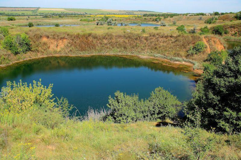 Соледарское озеро, Соледар — фото, описание, карта