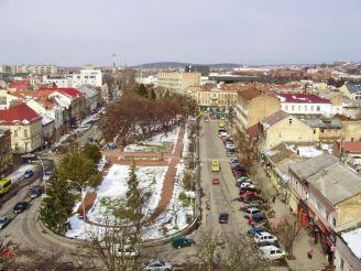 Sandor Petofi Square, Uzhgorod