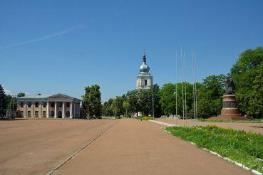 Площа Богдана Хмельницького, Переяслав-Хмельницький