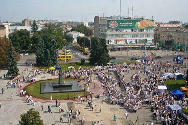 Театральная площадь, Луцк