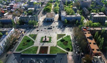 Площа Свободи, Херсон