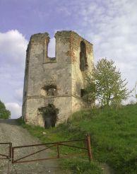 Руїни Черленківского замку, Селище