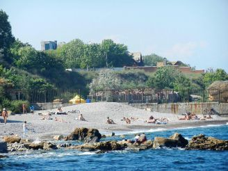 Нудистский пляж Чкаловский, Одесса