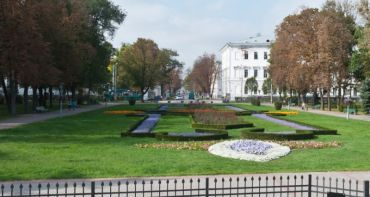Корпусный сад, Полтава