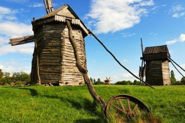 """The Museum of Folk Architecture and Life of Ukraine """"Pyrohiv"""""""