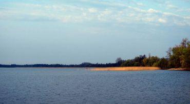 Lake Lyutsymyr, Shack