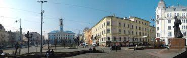 Central Square, Chernivtsi