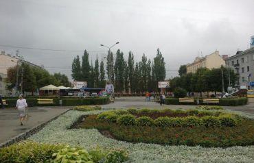 Cathedral Square, Chernivtsi