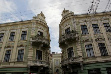 Twin houses, Chernovtsy